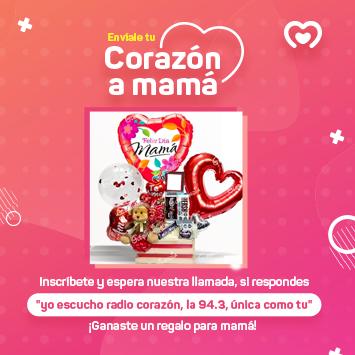 Corazón a mamá