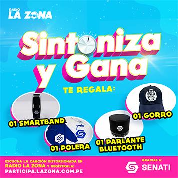 Radio La Zona y Senati premian tu preferencia en el Sintoniza y Gana