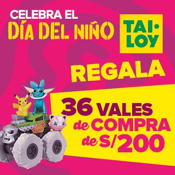Celebra el Día del niño con Tai Loy