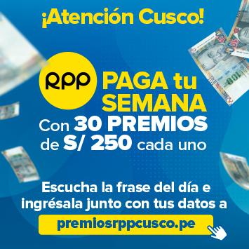RPP Paga tu semana Cusco