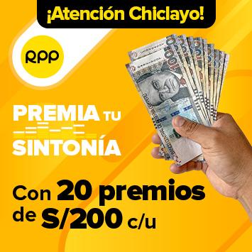 RPP PREMIA TU SINTONÍA - Chiclayo