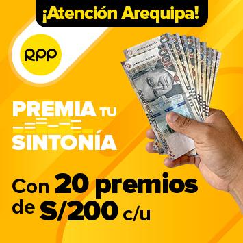 RPP PREMIA TU SINTONÍA - Arequipa